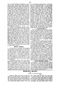 """Ilirske narodne novine, 8. siječnja 1842. Na svojim stranicama ove su novine donijele četiri Vukotinovićeva feljtona iz ciklusa """"Zimske misli""""."""