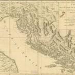 Carte de l'Istrie et de la Dalmatie : pour servir a l'intelligence des voyages du Cen [Louis Francois] Cassas