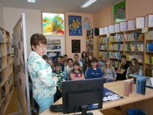 Noć knjige 2013. u školskoj knjižnici Osnovne škole Klana