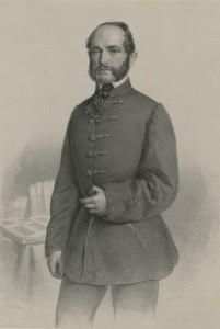 Joseph Anton Bauer, Ivan Mažuranić, između 1861. i 1865., litografija, 557 x 355 mm