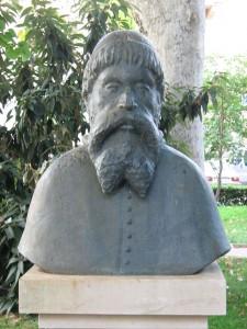 Simun Kozicic-Benja (Zadar), autor: Andrej Šalov. Preuzeto s: https://hr.wikipedia.org/wiki/%C5%A0imun_Ko%C5%BEi%C4%8Di%C4%87#/media/File:Simun_Kozicic-Benja_(Zadar).JPG