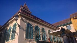 Detalj iz Zsolnayjeve kulturne četvrti.