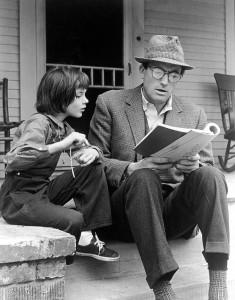 """Scena iz filma """"Ubiti pticu rugalicu"""" u režiji Roberta Mulligana (1962.) s Gregoryjem Peckom u glavnoj ulozi."""