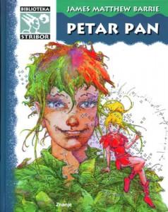 Petar Pan, naslovnica. Izdanje Znanja, Biblioteka Stribor