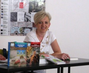 Književnica Nada Mihaljević. Fotografija preuzeta s internetske stranice www.kult-portal.com.