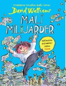 """Korice romana """"Mali milijarder"""" Davida Walliamsa."""