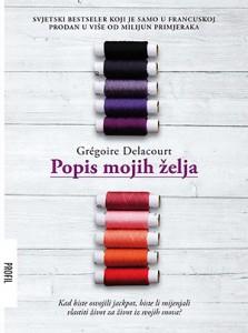 Popis mojih želja, korice romana u izdanju izdavačke kuće Profil, 2015.